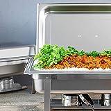 ALPHA LIVING 70014-GRAY 4 Pack 8QT Chafing Dish