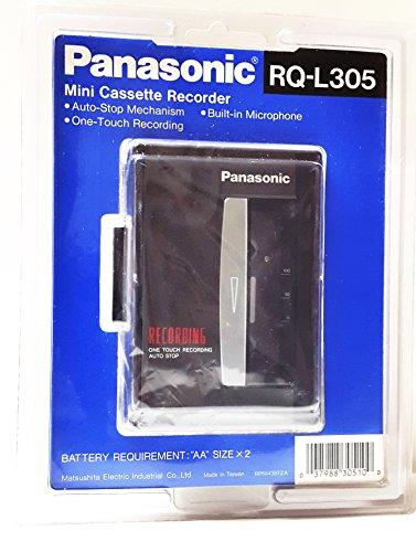 Panasonic RQ-L305 Mini Cassette Recorder