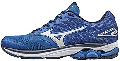 Mizuno Wave Rider 20, Zapatillas de Running para Hombre, Azul (Nautical Blue/White/Dress Blues), 39 EU