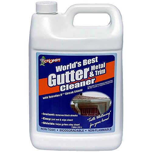 Environmental Solutions Chomp Wp 36222544 Professional Strength Gutter And Trim Cleaner  1 Gallon  Mfg 53010