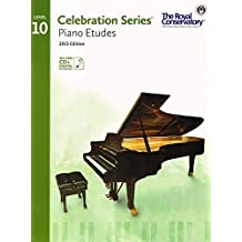C5S10 - Royal Conservatory Celebration Series - Piano Etudes Level 10 Book 2015 Edition by Royal Conservatory (2015-04-01)