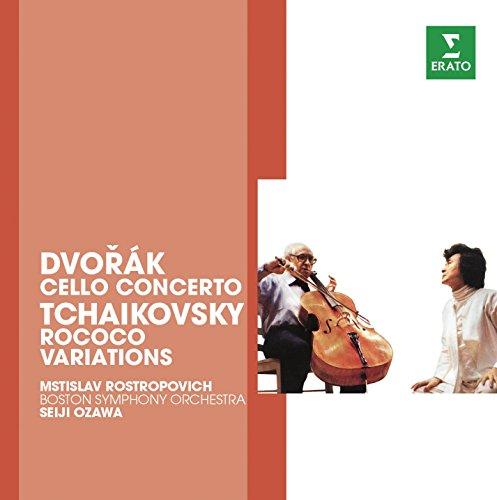 Dvorak: Cello concerto Op.104; Tchaikovsky: Rococo Variations ()