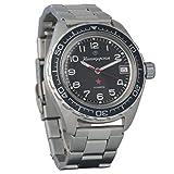BRAND NEW! Vostok Komandirskie 200 WR Mechanical AUTO Self-winding Mens Military Wrist Watch #020706