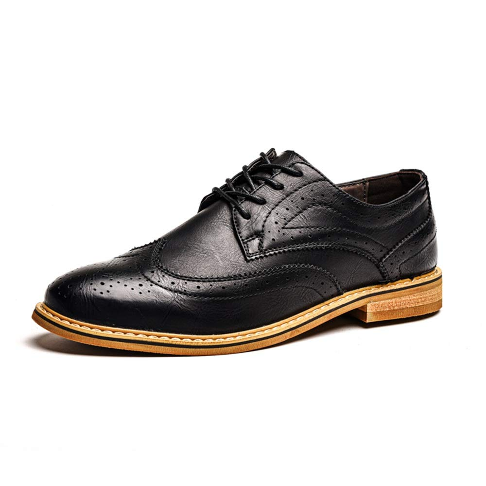 12145ea8e7ac Jiuyue-scarpe, 2018 Scarpe da Uomo d'Affari da da da Uomo, Moda ...
