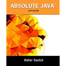 Absolute Java Plus MyProgrammingLab with Pearson eText -- Access Card Package (6th Edition) by Walter Savitch (2015-05-14)