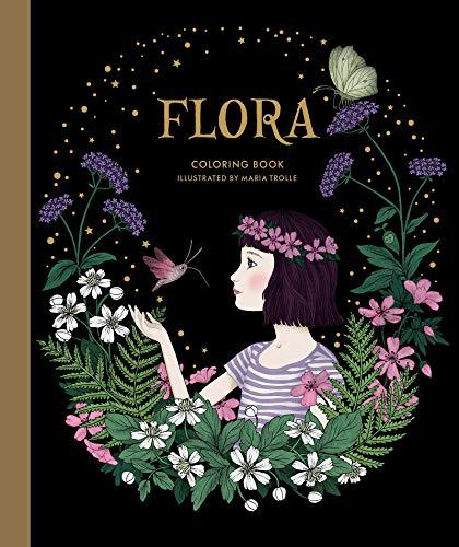 Flora Coloring Book por Maria Trolle
