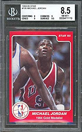 Amazon.com: 1984-85 star #195 MICHAEL JORDAN chicago bulls ...