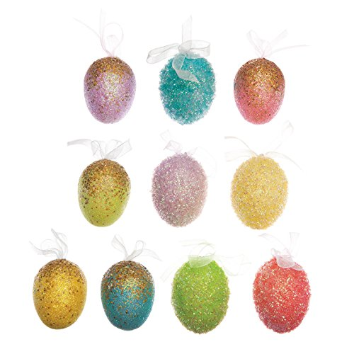 Easter Ornaments, Set of 10