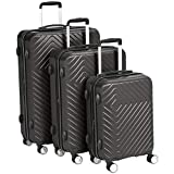 Best luggage sets - AmazonBasics Geometric Luggage Expandable Suitcase Spinner - 3 Review