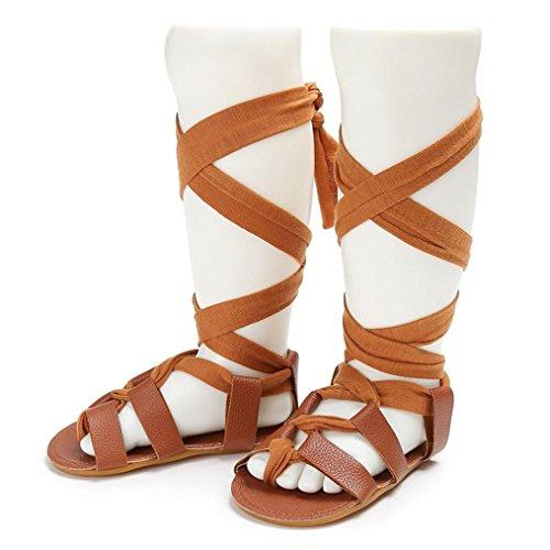 Zapatos Bebé SMARTLADY Niñas bebe Moda Sandalias Marrón
