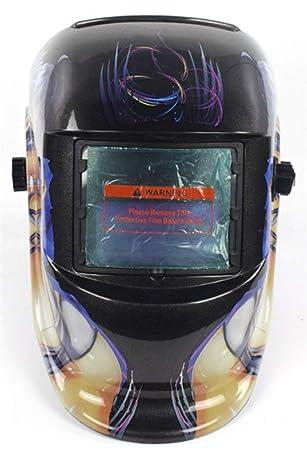 Icegrey Careta Casco de Soldadura Máscara para Soldar de Energía Solar de Oscurecimiento Automático y Ajustable Belleza de dibujos animados: Amazon.es: ...