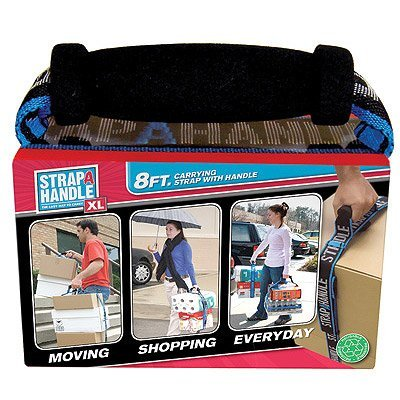 Strap-A-Handle 8ft. Heavy Duty Handle XL, Blue: Home Improvement