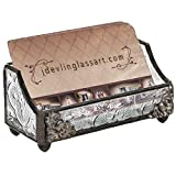J Devlin CRD 104 Stained Glass Business Card Holder