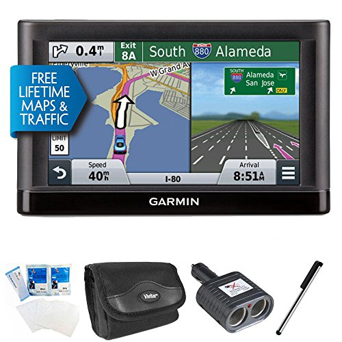 Garmin Nuvi 65LMT Essential Series GPS Nav w/ Lifetime Maps 6