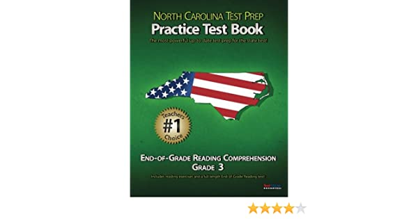NORTH CAROLINA TEST PREP Practice Test Book End-of-Grade Reading ...