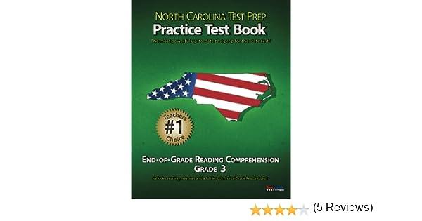 NORTH CAROLINA TEST PREP Practice Test Book End-of-Grade Reading ...