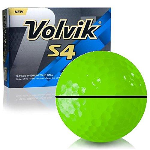 Volvik s4グリーンalignxl Personalizedゴルフボール B07D5GT1YY