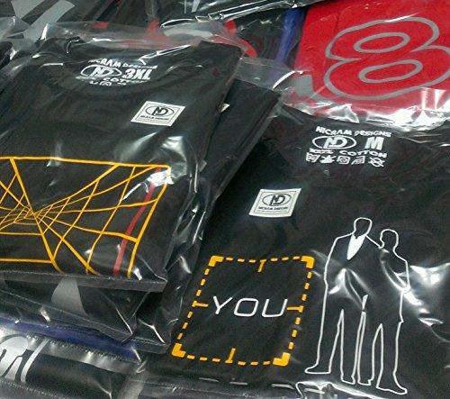 shirt Blue Logo T Rond Designs Homme Black Nicram Col w0Eqfvx