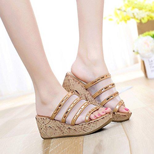 seven Pantofole piatto e con pantofole in fondo Donyyyy Thirty pantofole ATPxqTH