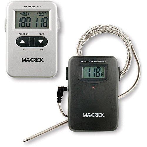 Termómetro de cocina digital mando a distancia, uso w/interior ...