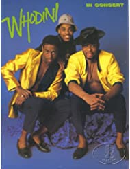 Whodini 1987 Open Sesame Tour Concert Program Programme