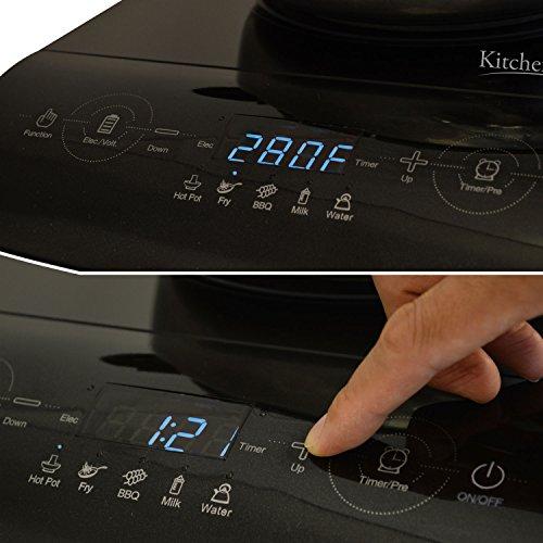 Countertop Induction Burner Reviews : KitchenPRO Portable Multifunction Induction Countertop Burner Cooktop ...