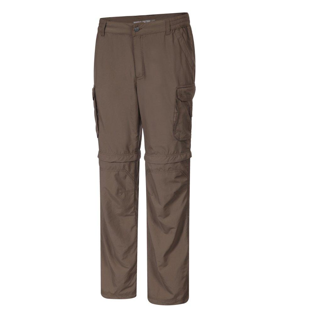 Icepeak Herren Trekkinghose, Outdoorhose, Short , Leo, Braun, Größe 48