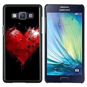 EJOOY---Cubierta de la caja de protección para la piel dura ** Samsung Galaxy A5 A5000 ** --Corazón Residual