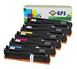 5PK EPS Replacement HP 305A CE410A CE411A CE412A CE413A Toner Set for HP LaserJet Pro 300 400, Office Central