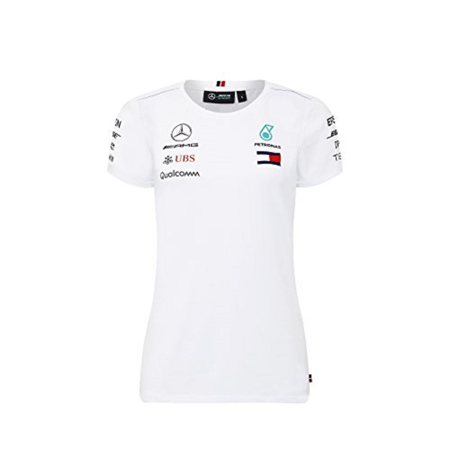 Mercedes Benz Petronas AMG Formula 1 Womens 2018 Driver Team White Polo Shirt