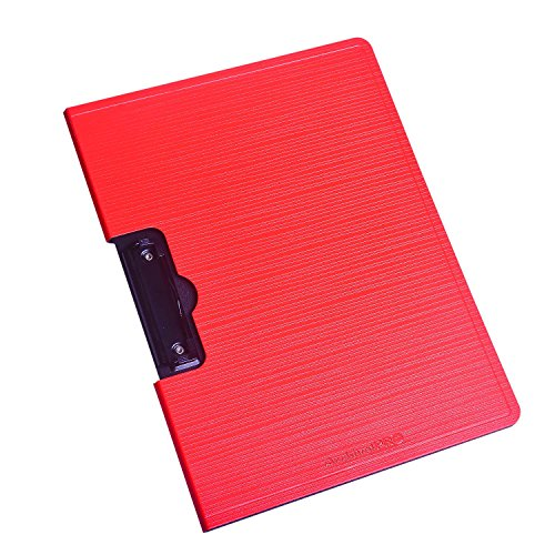 - Rancco Clipboard A4 File Holder Document Organizer, Frosted PP Hardboard Letter Size Drawing Writing Pad, Document Folder Clip Sketching Board (Red)