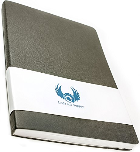 Leda Art Supply The Perfect Premium Medium Sketchbook (8.25x5.5) 160 Tear and Bleed Resistant Pages