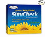 Cheap Enzymatic Therapy –  Sinucheck 40 Soft Gels, Boxes (Pack of 2)