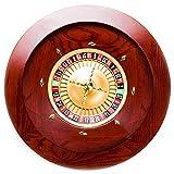 Casino Grade Deluxe Wooden Mahogany Roulette Wheel - 19.5 Inch Diameter!