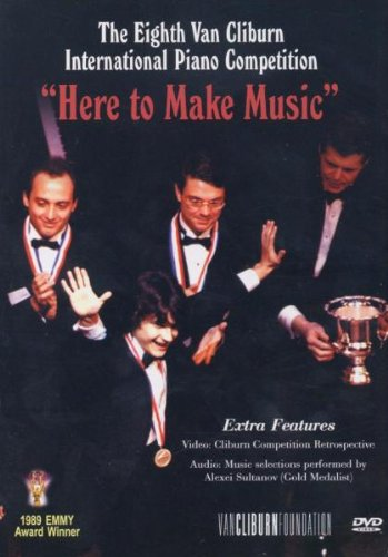 Here to Make Music: 8th Van Cliburn Piano Comp [DVD] [Import] B0001Z48VG
