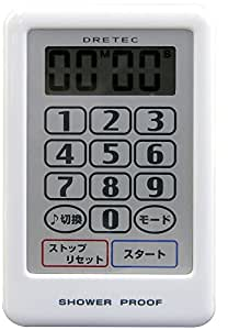 DRETEC drip loud timer white T-180WT