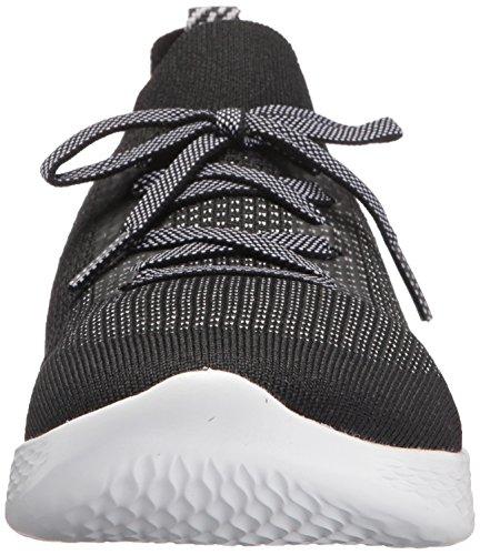Skechers Womens You-shine Sneaker Nero / Bianco