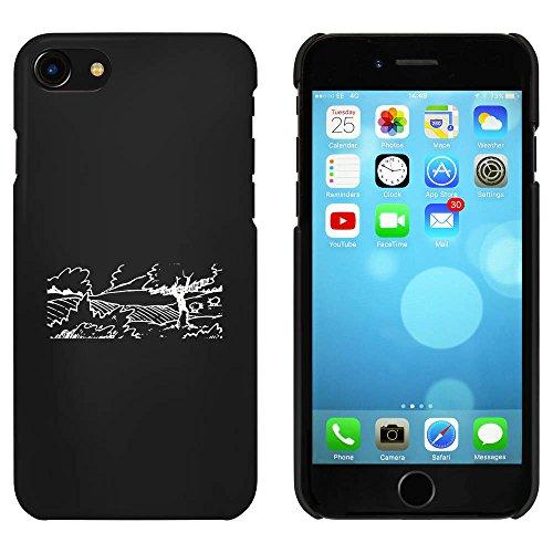 Noir 'Scène de Campagne' étui / housse pour iPhone 7 (MC00062563)