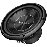 Pioneer TS-A250D4 10 Inch 1300 Watts Max Power Dual 4-Ohm Voice Coil A Series Car Audio Stereo Subwoofer Loudspeakers / Free Alphasonik Earbuds