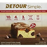 Simple Detour Protein Bars, Salted Caramel Cookie Dough, 9 Count