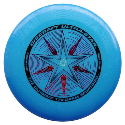 Discraft Ultra-Star 175g - Blue (Stars Sparkle Design)