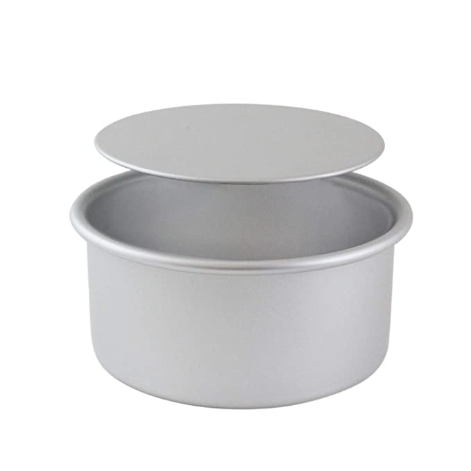 Amazon.com: PME LBR093 Professional Aluminum Cake Pan with Removable Bottom (9