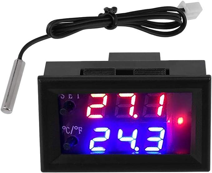 DC12V 50-110 ° C W1209WK Digital Thermostat Température Contrôle Capteur intelligent