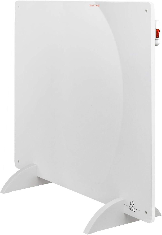 KESSER/® 2x Infrarotheizung 425 Watt Wandheizung ✓ Infrarot ✓ Heizung ✓ Heizk/örper Heizpaneel Inkl.Standf/ü/ßen 2er Set