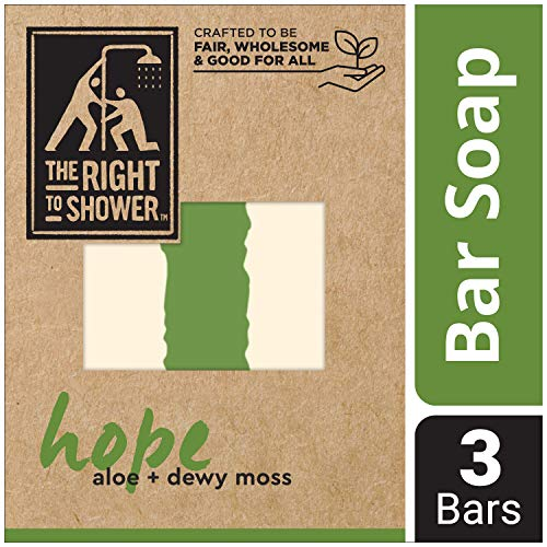 (The Right To Shower Bar Soap, Hope, 7 oz, Pack of 3)