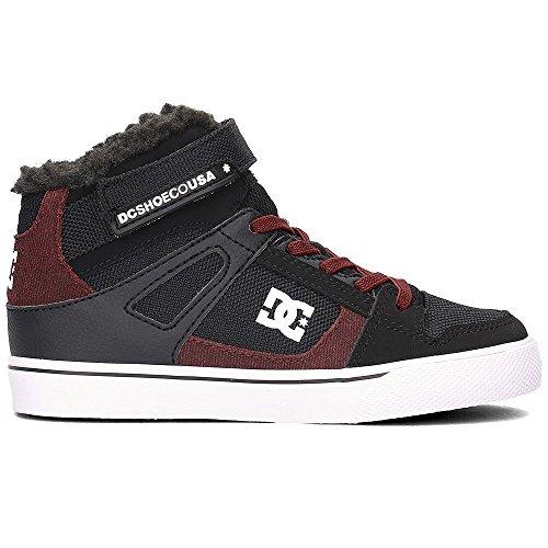 DC Shoes Spartan High WNT Ev, Zapatillas Para Niños Negro