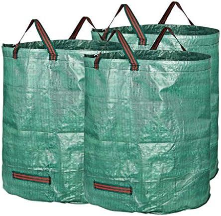 庭のゴミ袋、庭のゴミの草の植物の花の貯蔵のきちんとしたバケツ(272L H76 cm、D67 cm) (サイズ さいず : 3 bags)