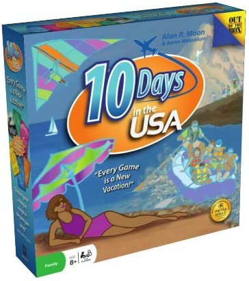 10 Days in The USA Board Game 51foy69iCTL