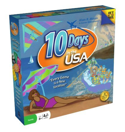 board game 10 days in europe - 1