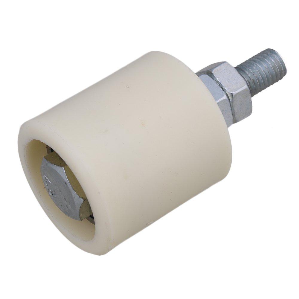 cnbtr M10/40/x 43/mm PP Stahl Enhanced Walzenlager F/ührung Rad mit 6200Z Kugellager Einsatz f/ür elektrische Tor